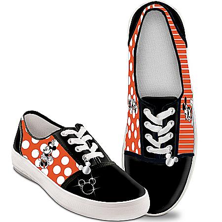Disney Retro Mickey & Minnie Women's Canvas Shoes