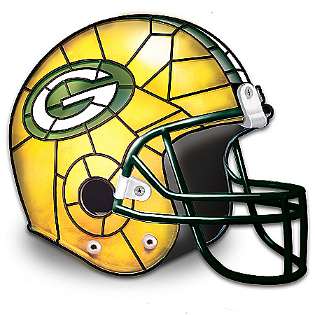 The Green Bay Packers Louis Comfort Tiffany-Style Accent Lamp