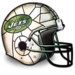 The New York Jets Louis Comfort Tiffany-Style Accent Lamp