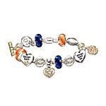 Go Bears! #1 Fan Charm Bracelet
