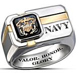 U.S. Navy Men's Ring - For My Sailor