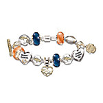 Go Broncos! #1 Fan Charm Bracelet