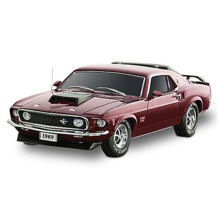 1969 Mustang BOSS 429 Sculpture Car: A Tribute To An American Legend