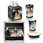 Bath Accessories - The Elvis Presley Bath Ensemble Accessories Set