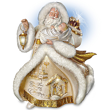 Thomas Kinkade Spirit Of The Season St. Nicholas Christmas