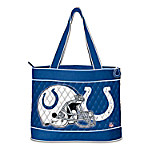 NFL Indianapolis Colts Quilted Tote Bag