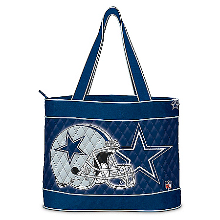 NFL Dallas Cowboys Quilted Tote Bag