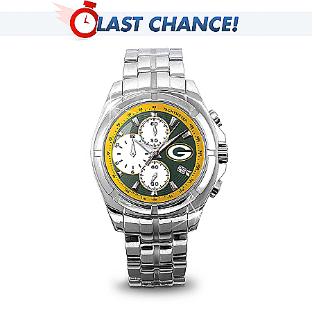 Green Bay Packers Super Bowl XLV Champions Collector's Watch 113368001