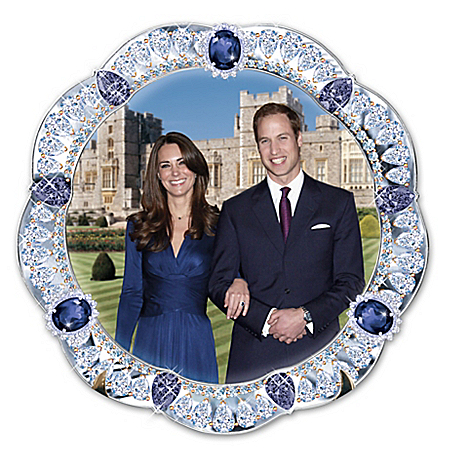 A Royal Engagement: Prince William And Kate Middleton Collector Plate