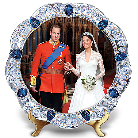 It's Official! The Royal Wedding Jeweled Plate