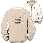 Loyal Companion Schnauzer Women's Fleece & Microfiber Reversible Jacket