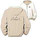 Loyal Companion Bichon Frise Women's Fleece & Microfiber Reversible Jacket