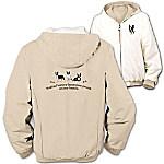 Loyal Companion Boston Terrier Women's Fleece & Microfiber Reversible Jacket