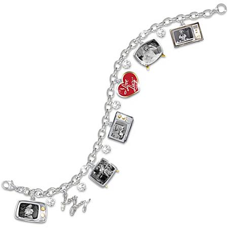 I LOVE LUCY Charm Bracelet