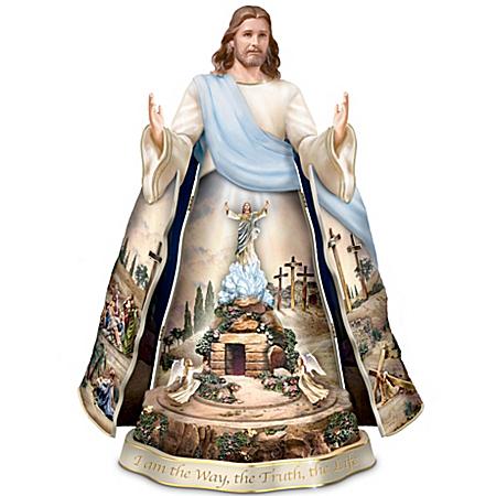Thomas Kinkade Jesus Sculpture: Visions Of Faith