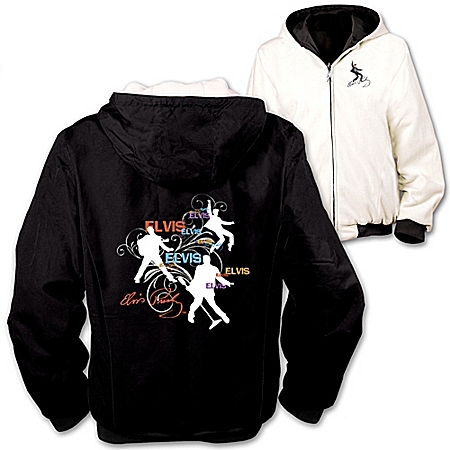 Elvis Presley Reversible Women's Jacket: On The Flip Side