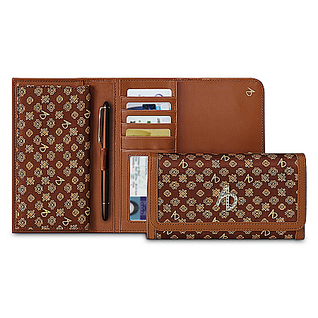 Alfred Durante Custom-Crafted Signature Women's Wallet