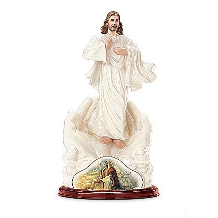 Jesus Christ Figurine: The Lord Is My Shepherd