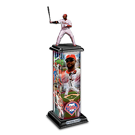 MLB Philadelphia Phillies Ryan Howard Sculpture