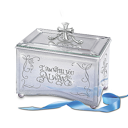 Reflections Of God's Love - Inspirational Fully Mirrored Music Box