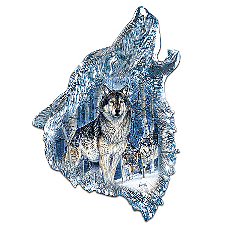 Wolf Decor Wolf Wall Decor: Twilight Majesty