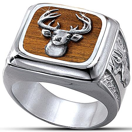 Men's Ring: Trophy 10-Point Buck