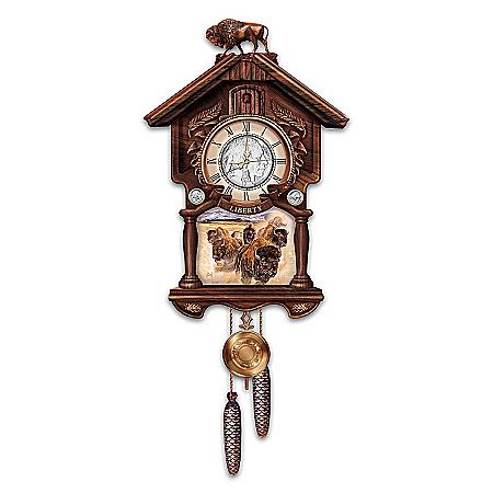 U.S. Indian Head Nickel Cuckoo Clock