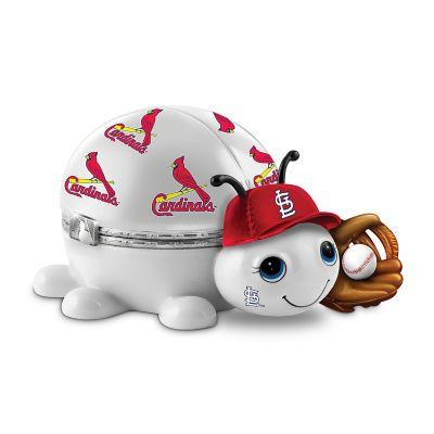 Bradford Exchange MLB St. Louis Cardinals Love Bug Heirloom Porcelain