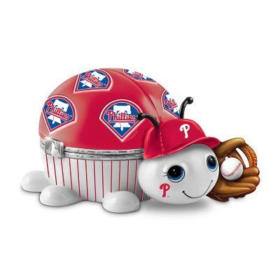 Bradford Exchange MLB Philadelphia Phillies Love Bug Heirloom Porcelain