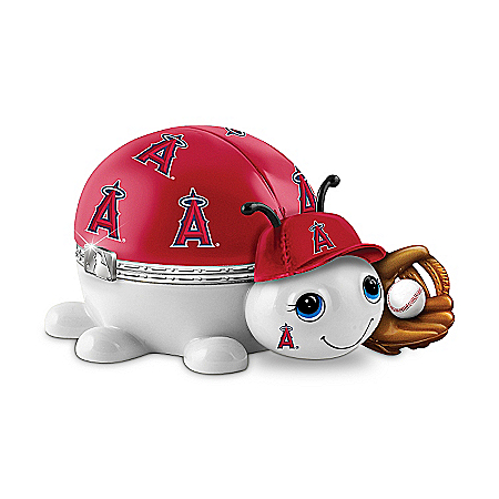 MLB Los Angeles Angels Love Bug Music Box