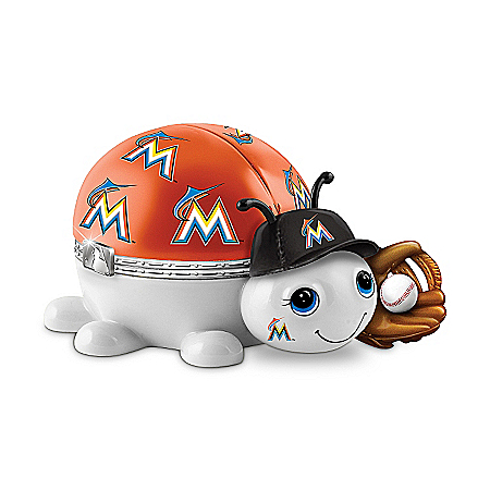 MLB Miami Marlins Love Bug Music Box