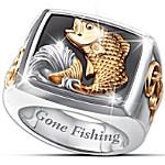 Men's Ring - Gone Fishing Ring