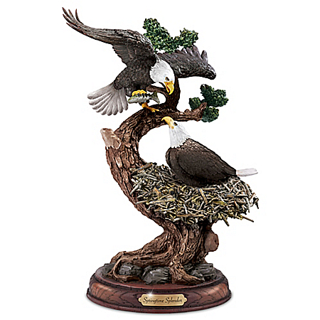 Photo of Springtime Splendor Sculpture by The Bradford Exchange Online