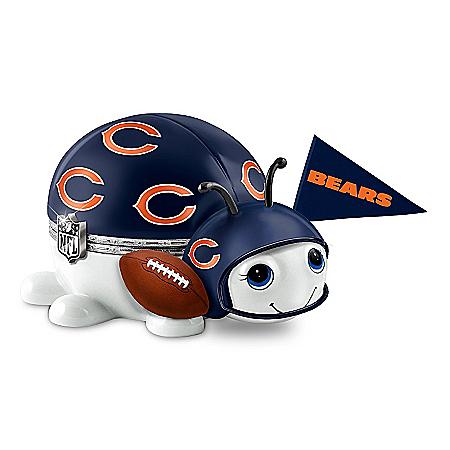 NFL Chicago Bears Bug Music Box: #1 Fan