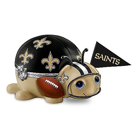 NFL New Orleans Saints Bug Music Box: #1 Fan
