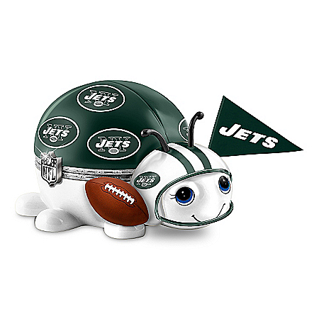 NFL New York Jets Bug Music Box: #1 Fan