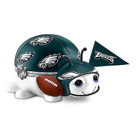 NFL Philadelphia Eagles Bug Music Box: #1 Fan