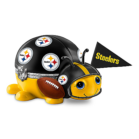 NFL Pittsburgh Steelers Bug Music Box: #1 Fan