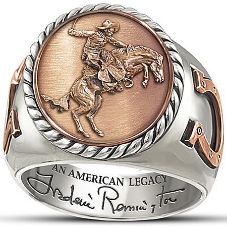 Commemorative Ring: Frederick Remington Legacy