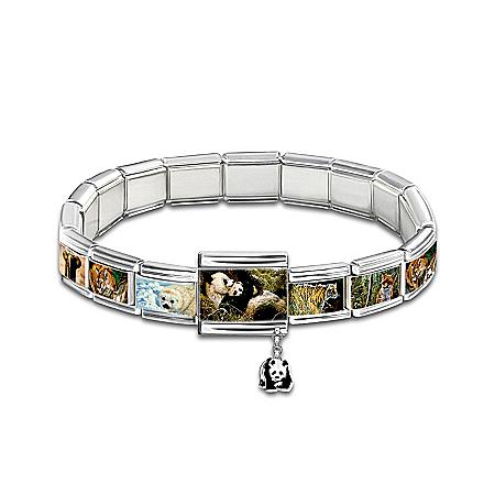Protect The Wild Charm Bracelet