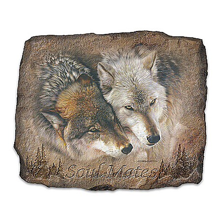 Wolf Art Wall Decor: Soul Mates