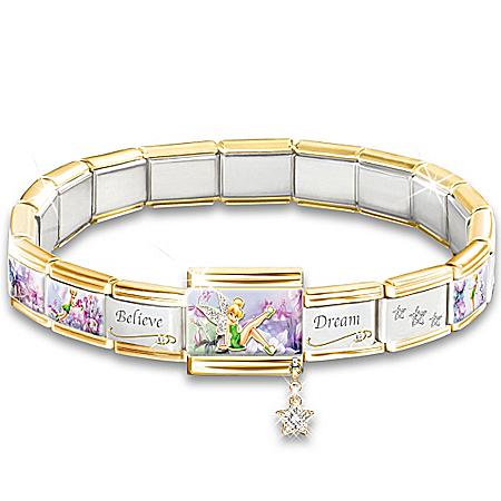 Disney Tinker Bell's Enchanted Gardens Bracelet