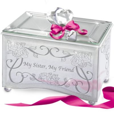 Bradford Exchange My Sister, My Friend Personalized Mirrored
