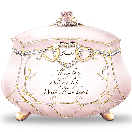 All My Love Personalized Music Box