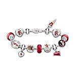 Women's Bracelet - Go Seminoles #1 Fan Charm Bracelet