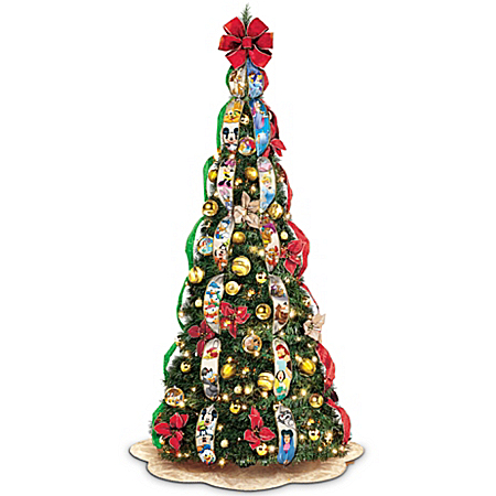 Ultimate Disney Wondrous Christmas Pre-Lit Pull-Up Christmas Tree