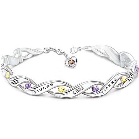 LSU Tiger Pride Women's Designer Bracelet