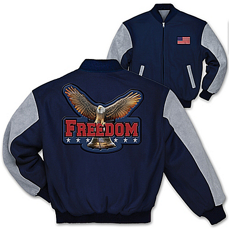 Men's Jacket: Freedom Men's Jacket by The Bradford Exchange Online - Lovely Exchange