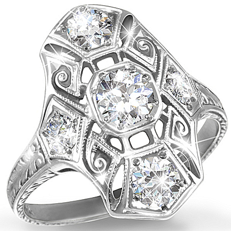 Photo of Heirloom Replica Ring: Timeless Radiance by The Bradford Exchange Online