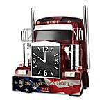 Wall Clock - How America Rolls Wall Clock